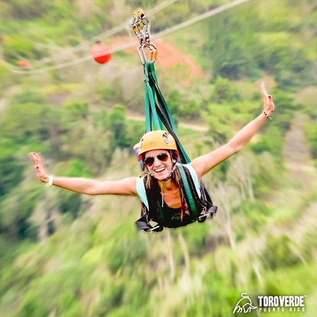 Thrill seekers will love the Monster, the world's longest zipline at Toro Verde in Puerto Rico