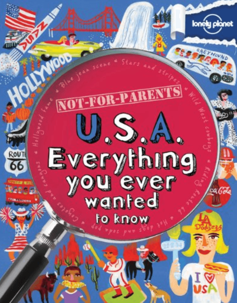 One of the Not for Parents series books by Lonely Planet Kids ~ Best Travel Books for Kids