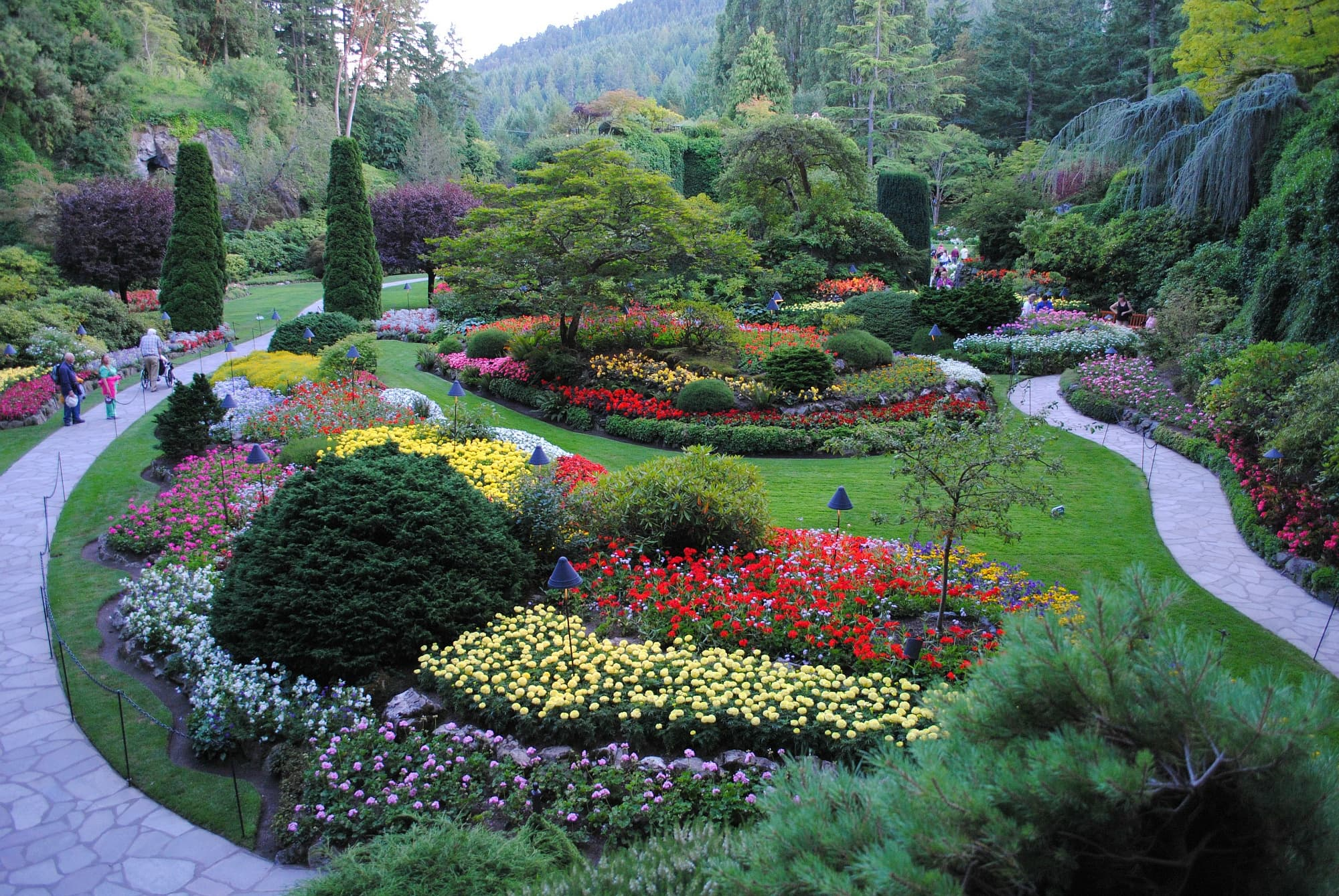 Butchart Gardens is a bucket list item for any botanical garden lover