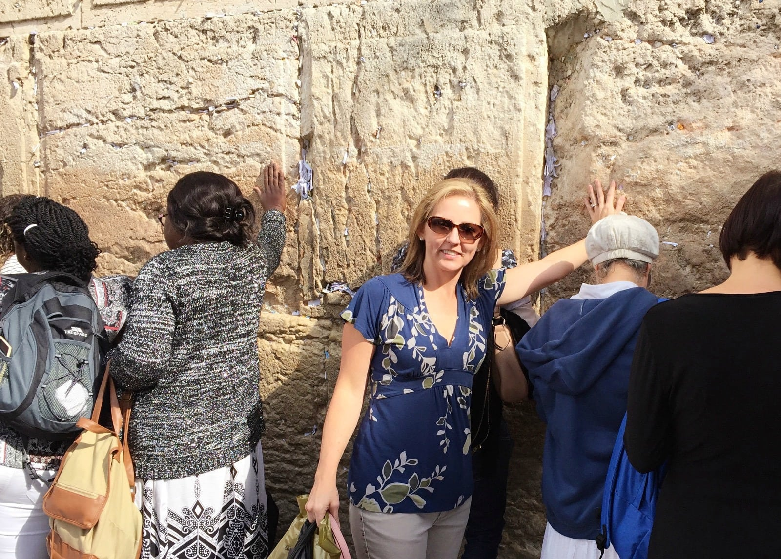 Touching the Western Wall, a.k.a. Wailing Wall, in Israel wasn't on my bucket list until I did it