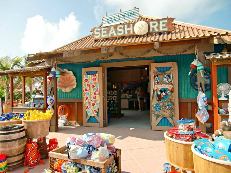 Disney gift cards can be used to buy souvenirs on Castaway Cay ~ What to pack for a Disney Cruise