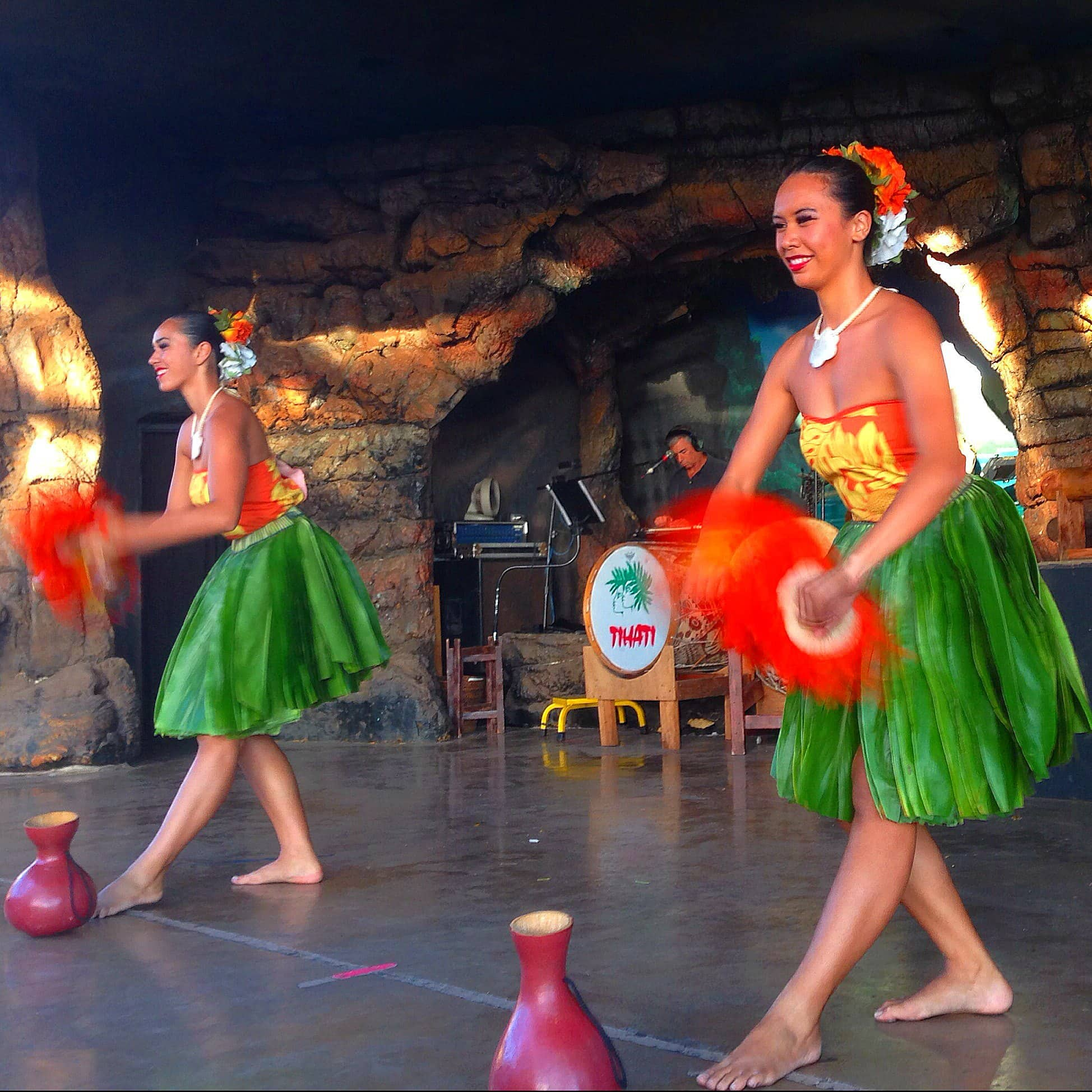 Drums of the Pacific Luau at Hyatt Regency Maui with kids