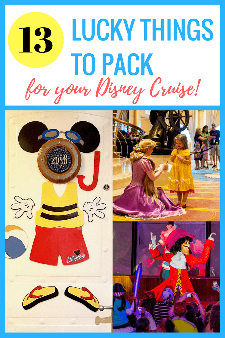 13 Lucky Things to Pack for a Disney Cruise with Kids