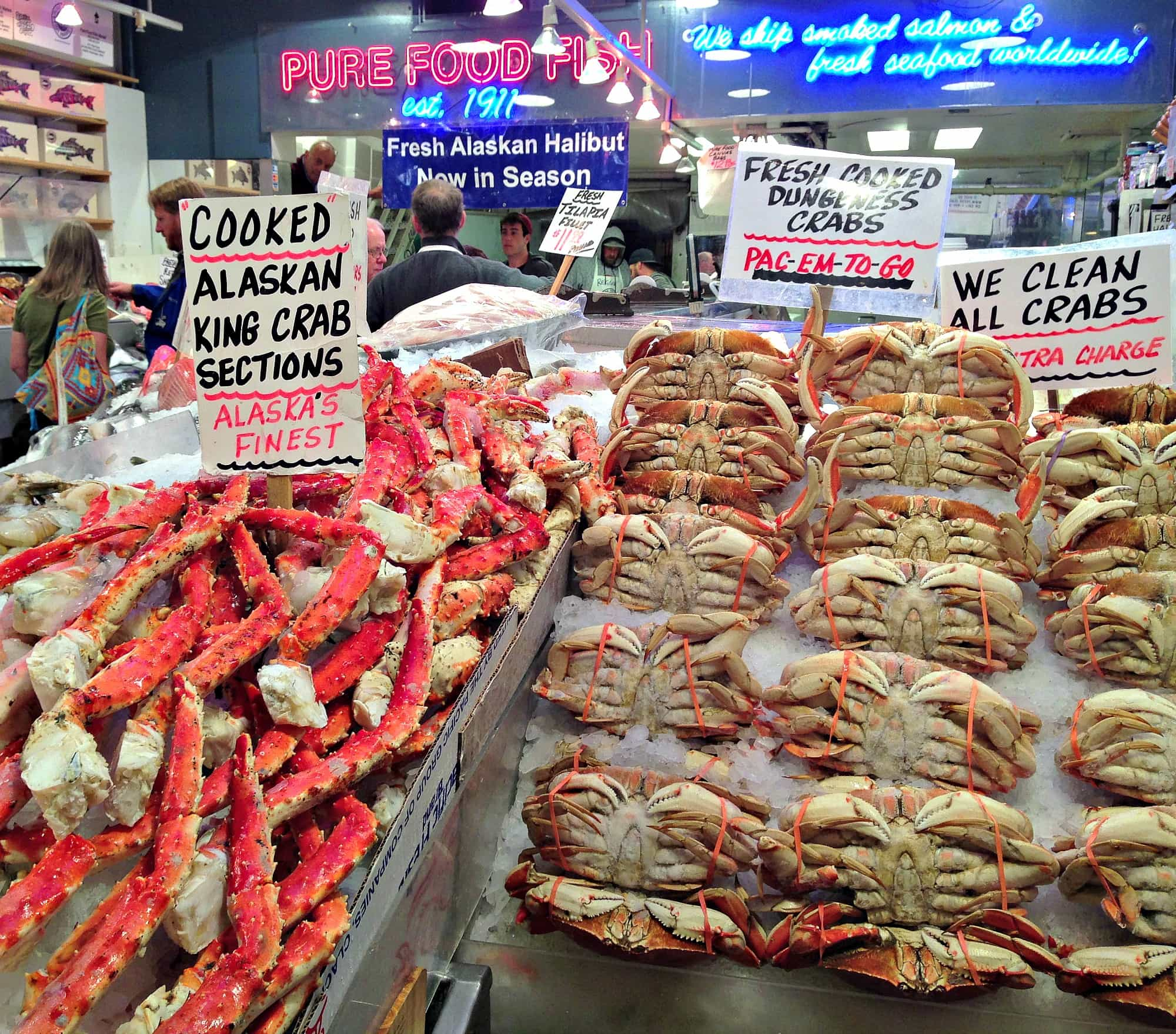 Pike Place Fish Market at Pike Place ~ Seattle with Kids