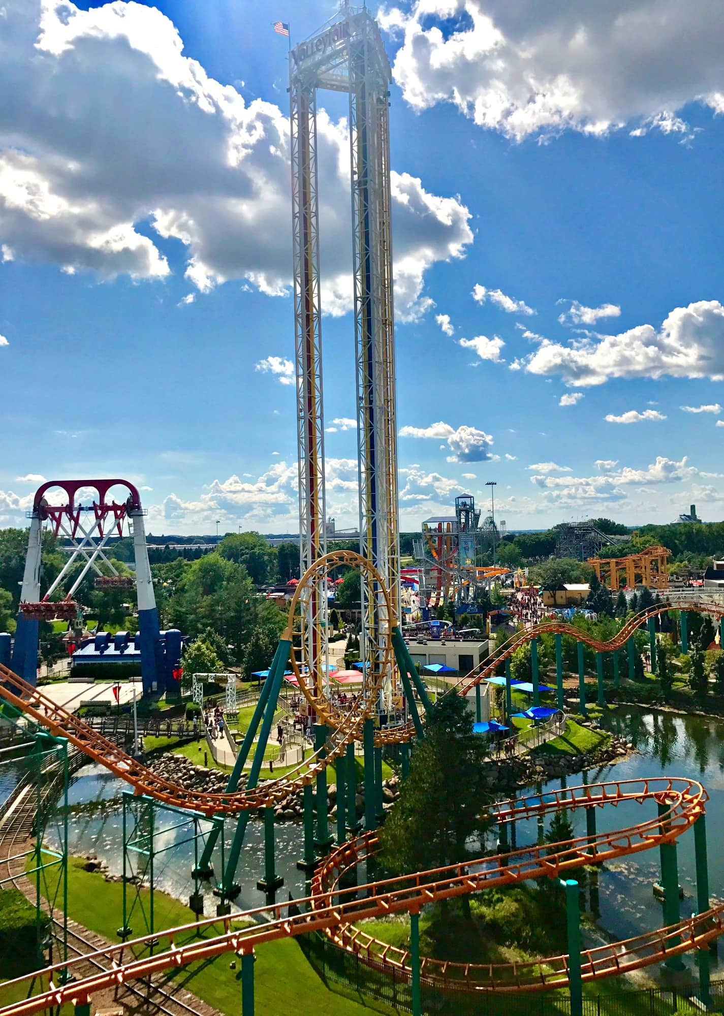 There are 44 rides at Valleyfair ~ Minnesota's largest theme park