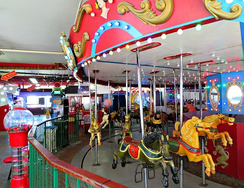 Village Carousel and Arcade ~ 7 unique things to do in ventura county california with kids