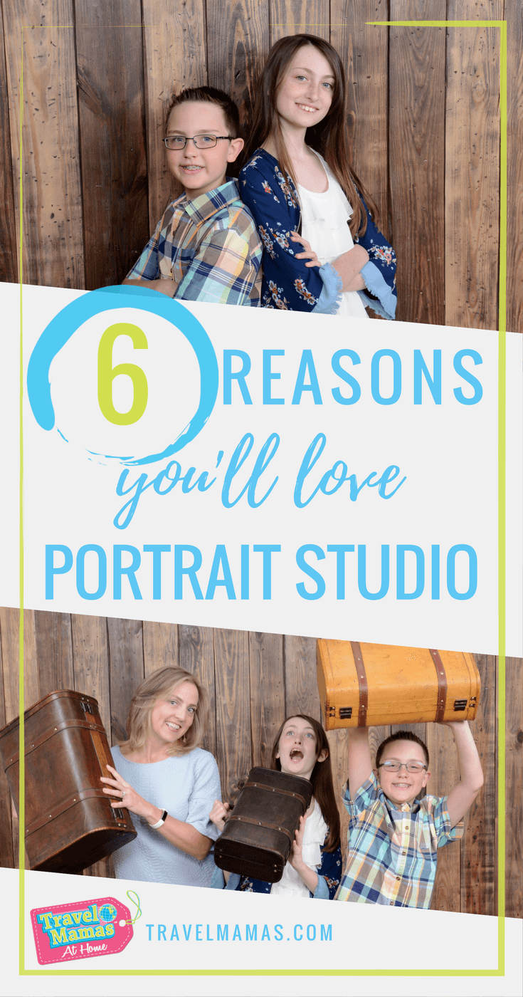6 Reasons You'll Love Portrait Studio! These affordable and convenient photo studios are located in select Walmart stores.