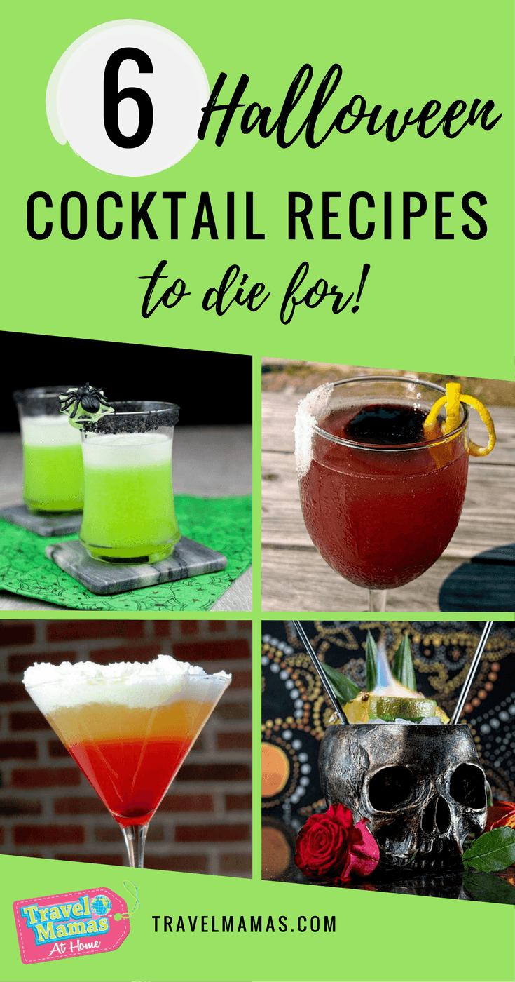 halloween cocktail recipes to die for
