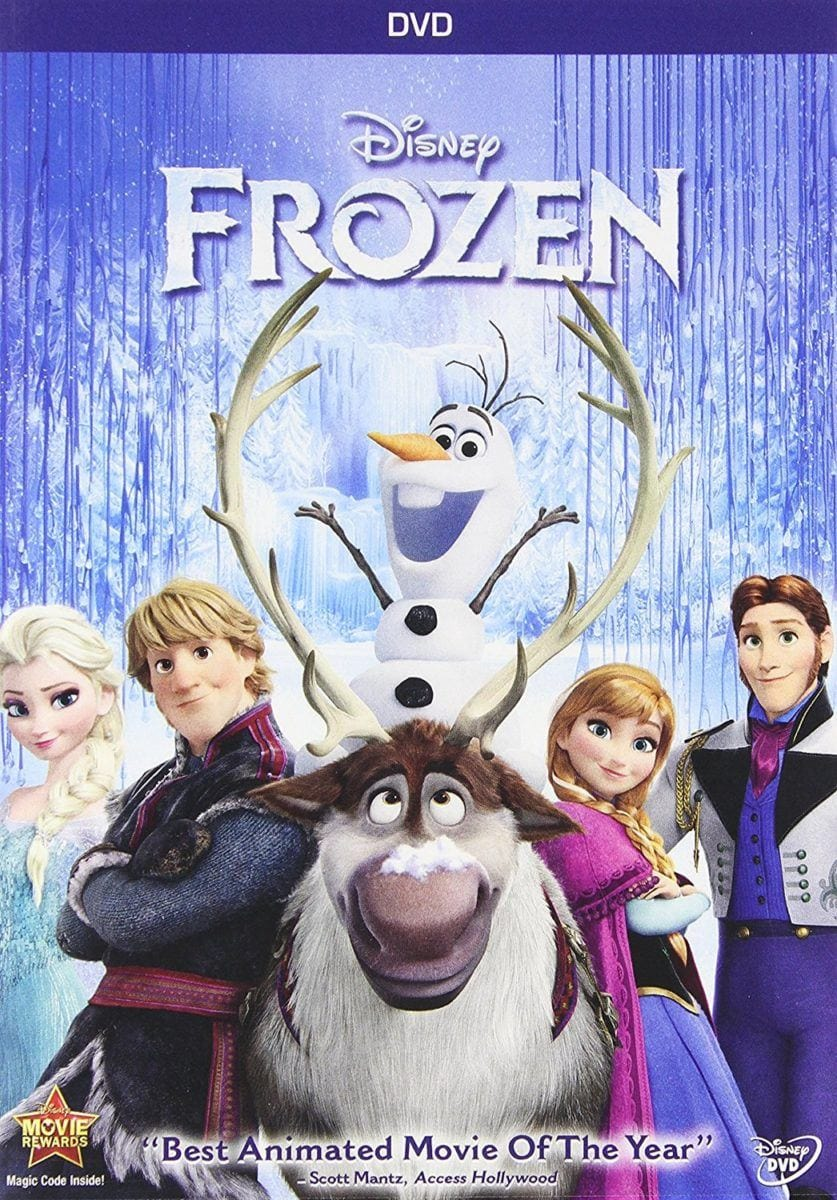 Best travel movies for kids - Frozen