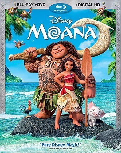 Best travel movies for kids, Moana