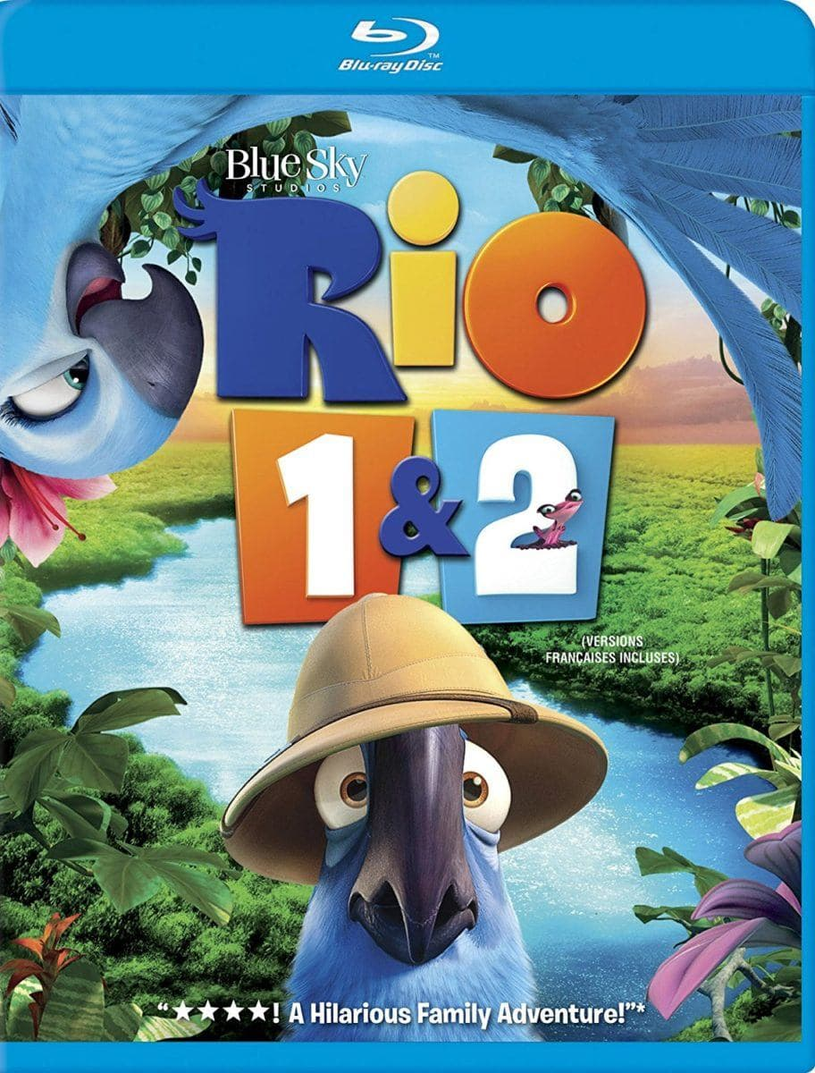 Best travel movies for kids ~ Rio 1 & 2