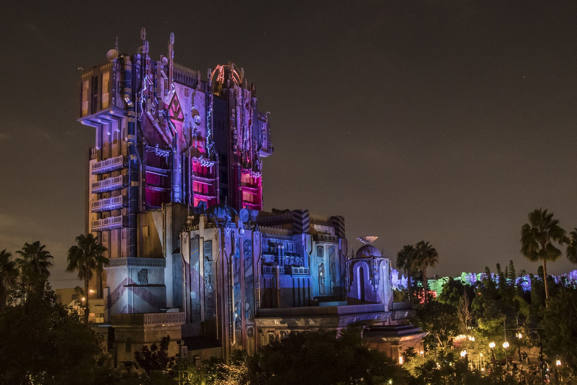 Guardians of the Galaxy: Monsters After Dark during Halloween Time at Disneyland
