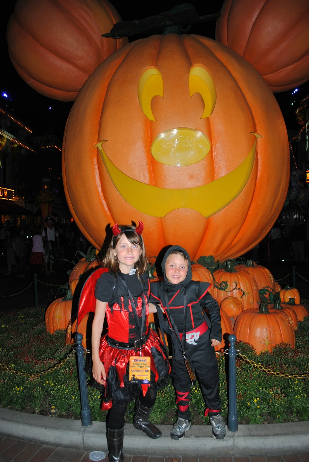 Mickey's Halloween Party with kids is a spooktacular time!