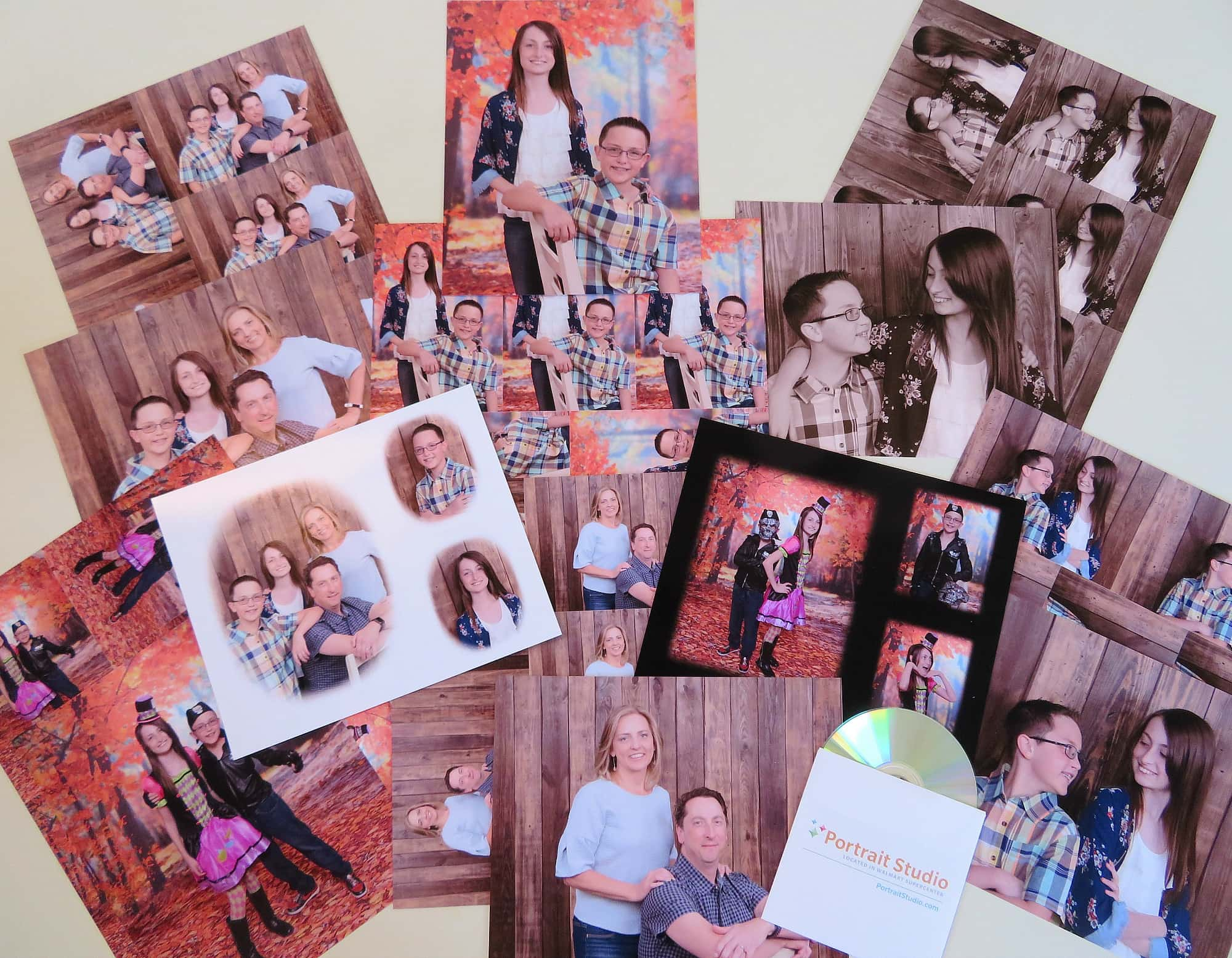 Win a six-pose Portrait Studio portrait package including: two sheets of any size per pose, two 8x10 special effects decorator portraits, and one high resolution CD of all portrait images