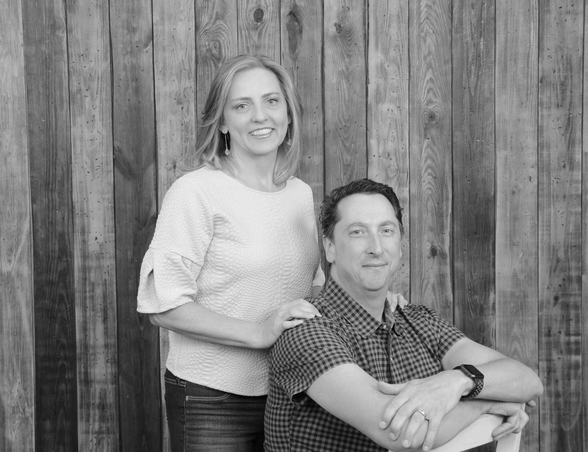 I'm glad we got a photo of just my husband and me together at Portrait Studio