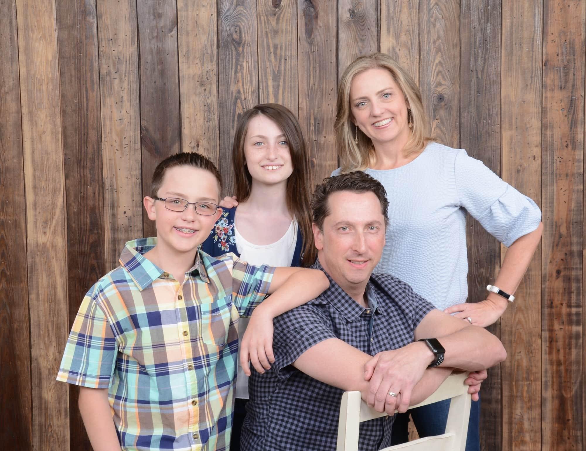Our family portrait by Portrait Studio