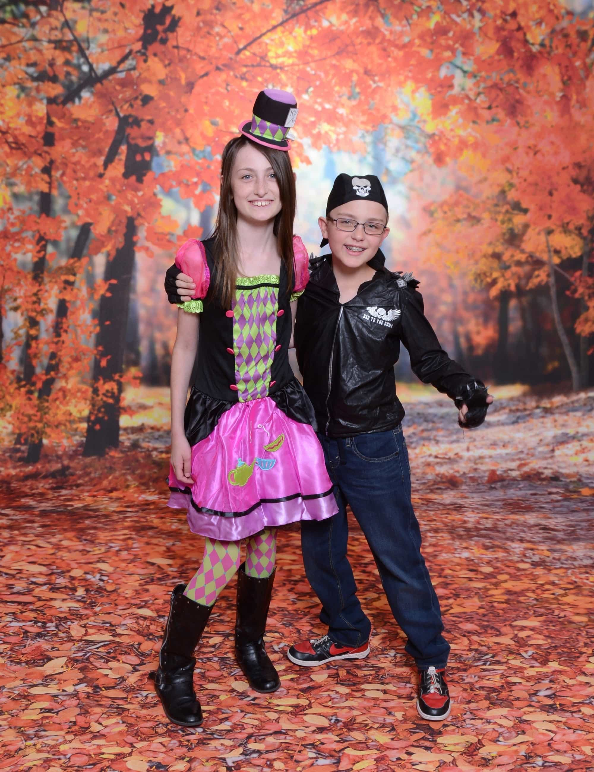 Celebrate fall with Halloween photos from Portrait Studio