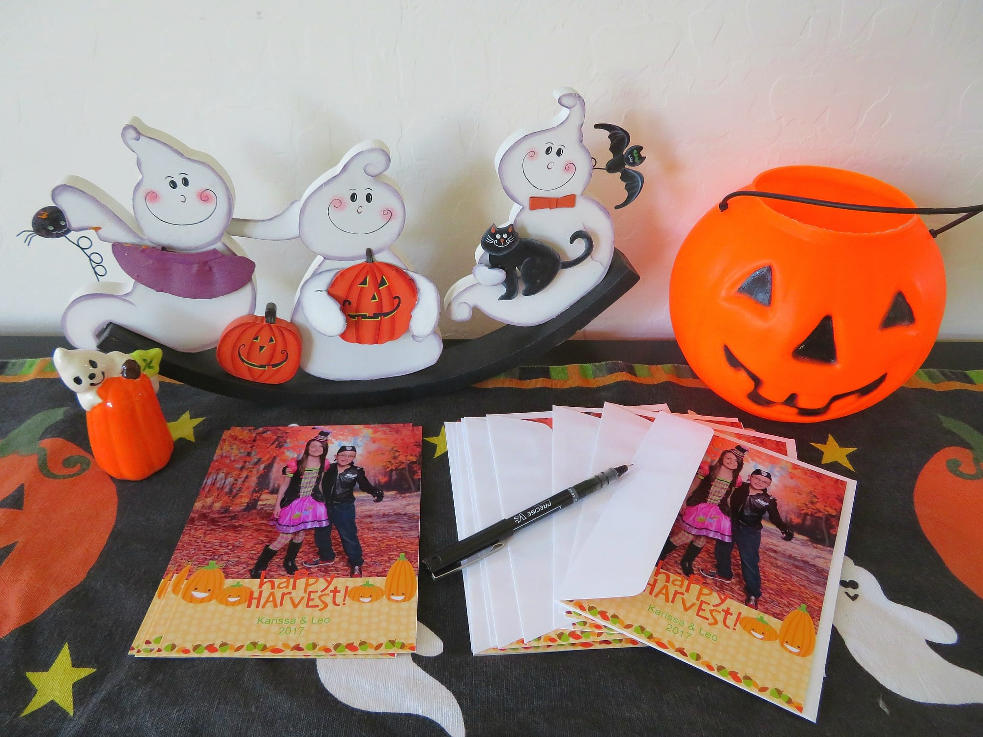 I can't wait to send out our Portrait Studio Halloween cards!
