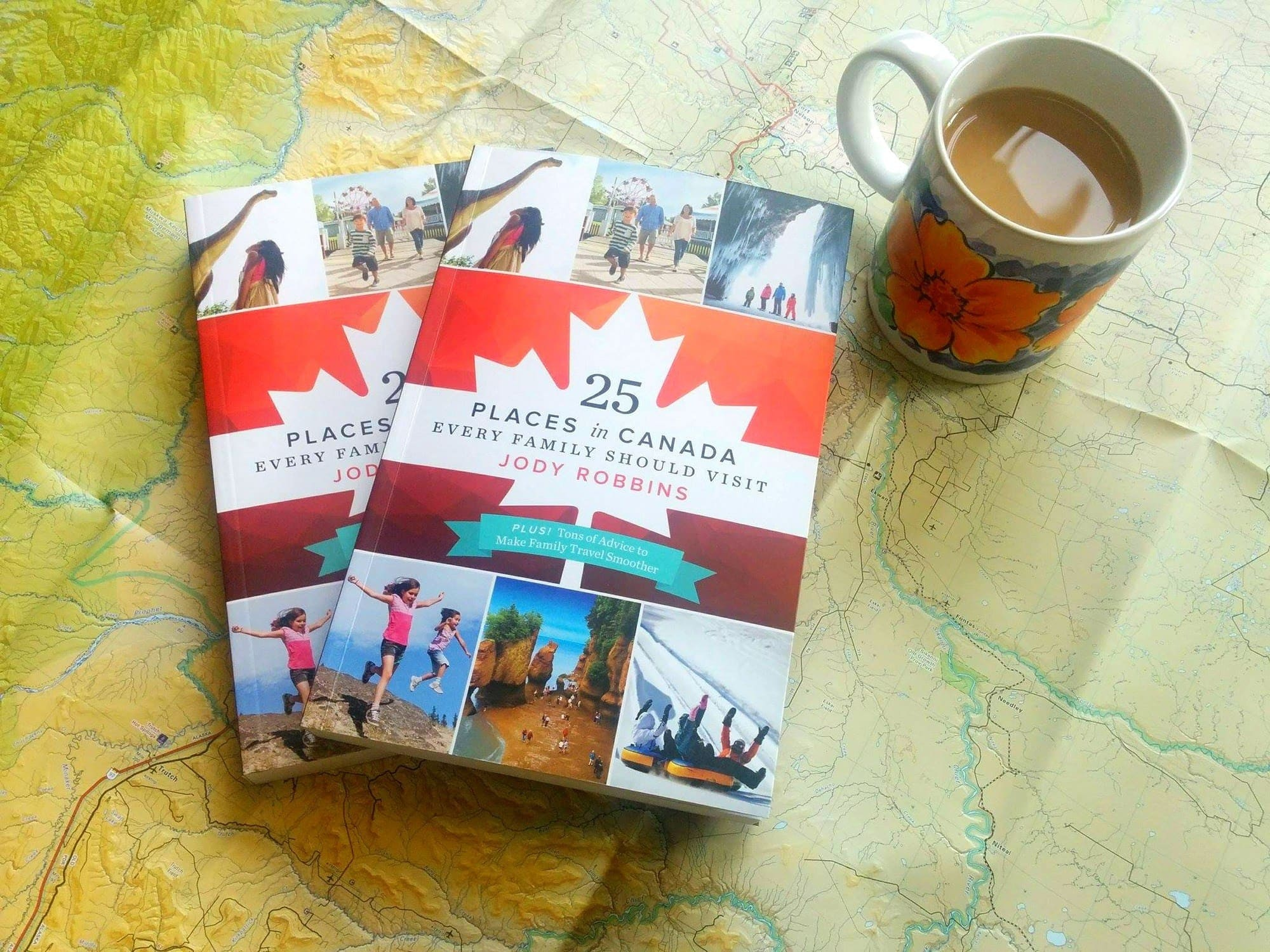 "Enter to win one of two copies of ""25 Places in Canada Every Family Should Visit"""