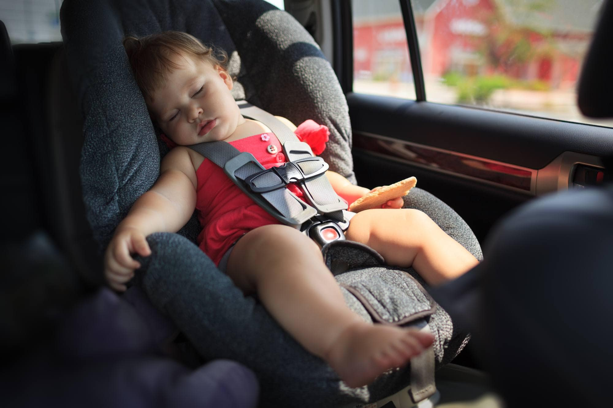 If you're lucky, your baby or toddler just may take a nap during your road trip!