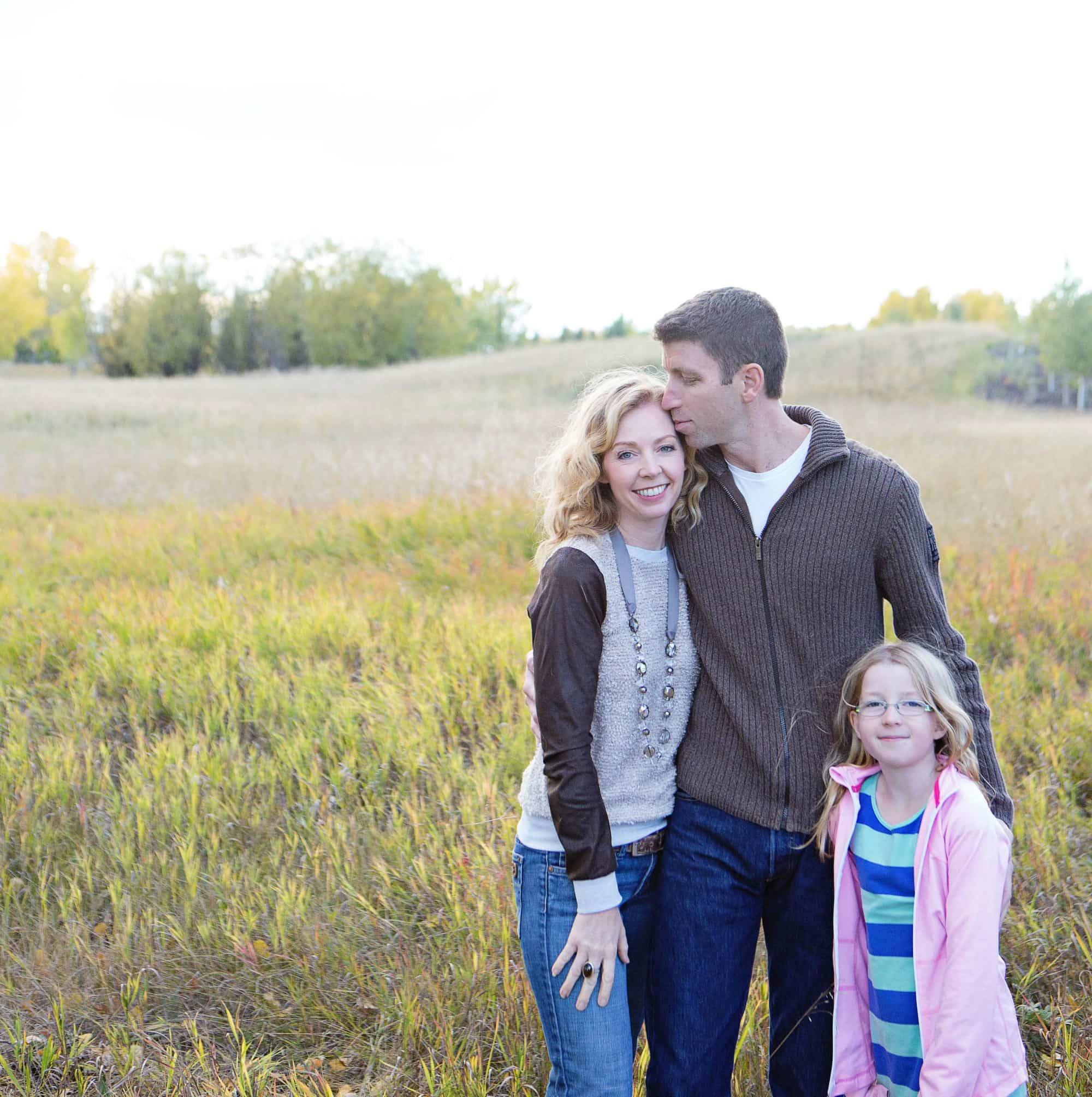 25 Places in Canada Every Family Should Visit Author Jody Robbins with her husband and family