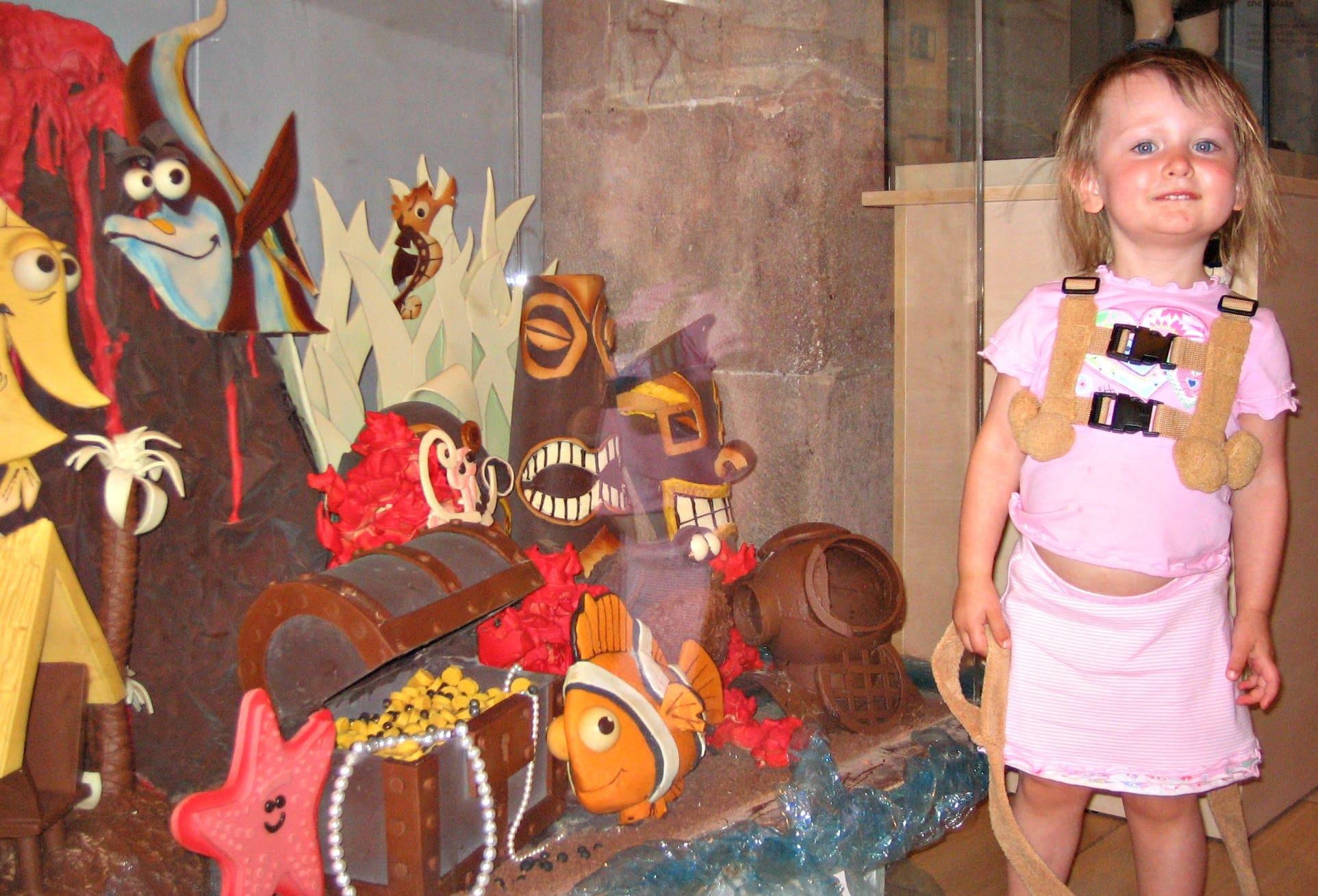 Museu de la Xocolata in Barcelona with kids