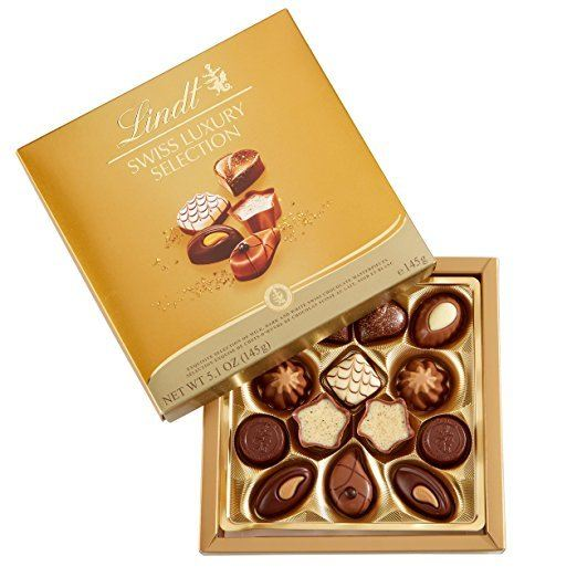 Lindt chocolates for travel lovers from amazon.com