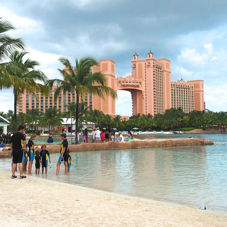 Beach time is always fun at Atlantis Resort Bahamas
