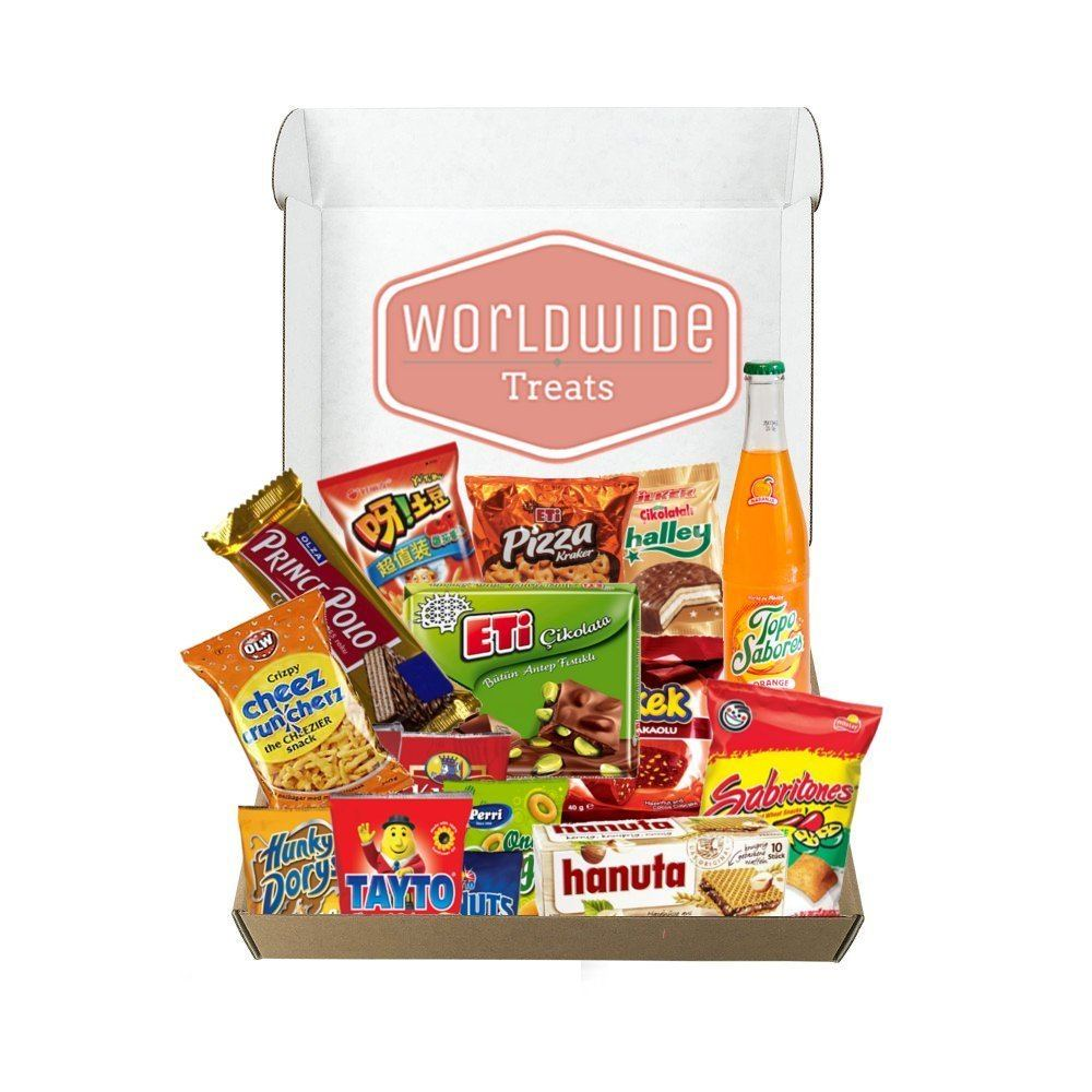 snacks from around the world ~ gift ideas for travel lovers