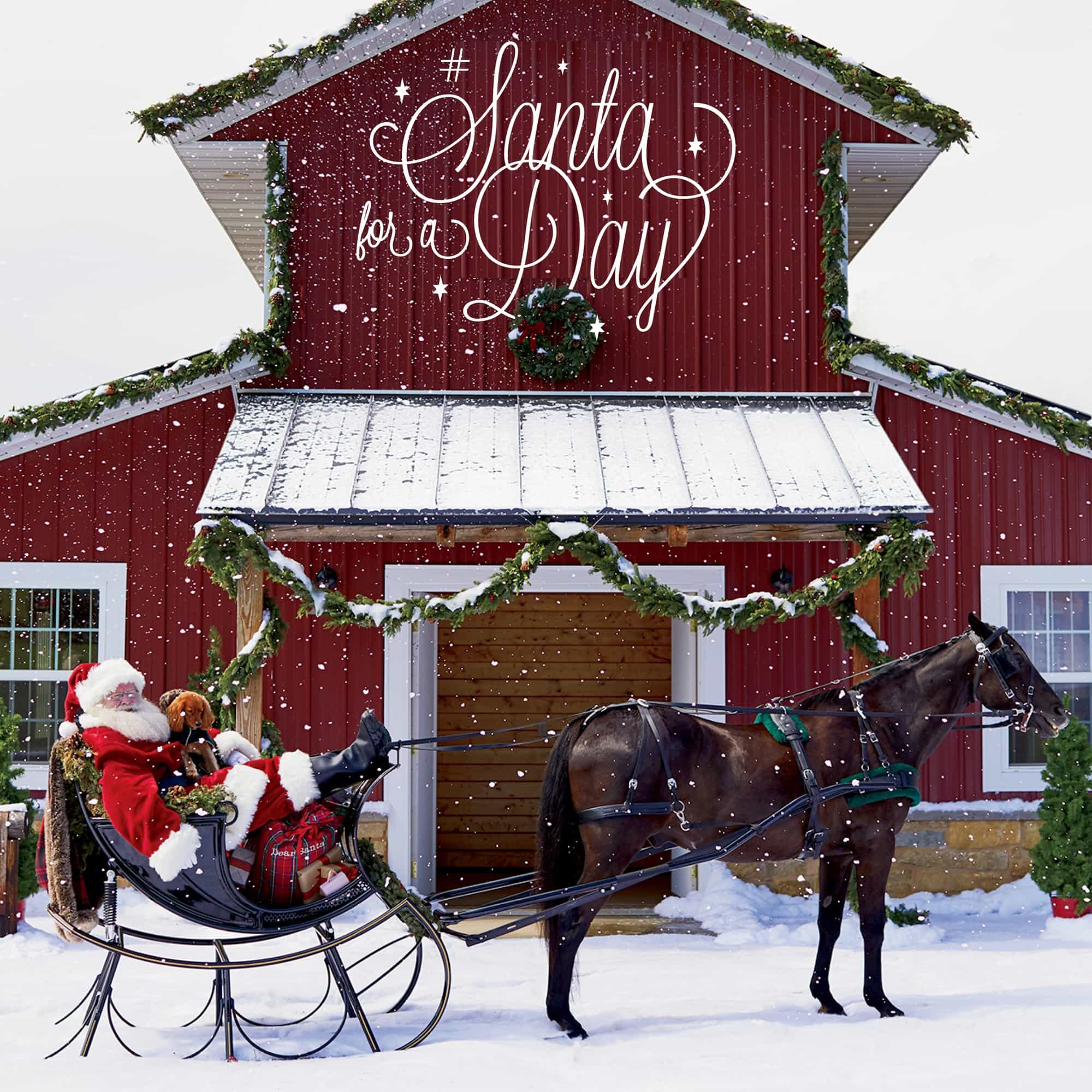 Want to be Santa for a Day? Enter the Lands' End sweepstakes!