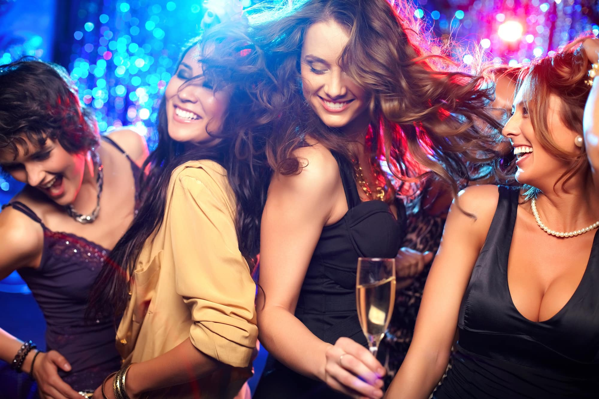 Hit the dance floor on your Las Vegas girlfriend getaway