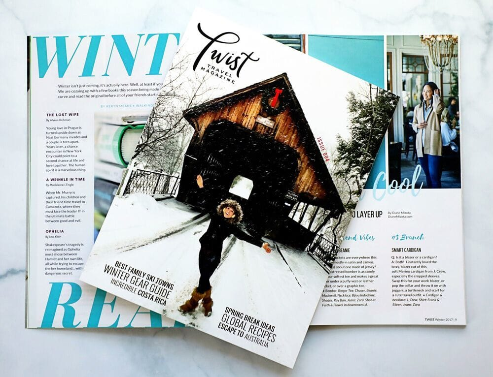 Twist Travel Magazine ~ Gift Guide for Travel Families