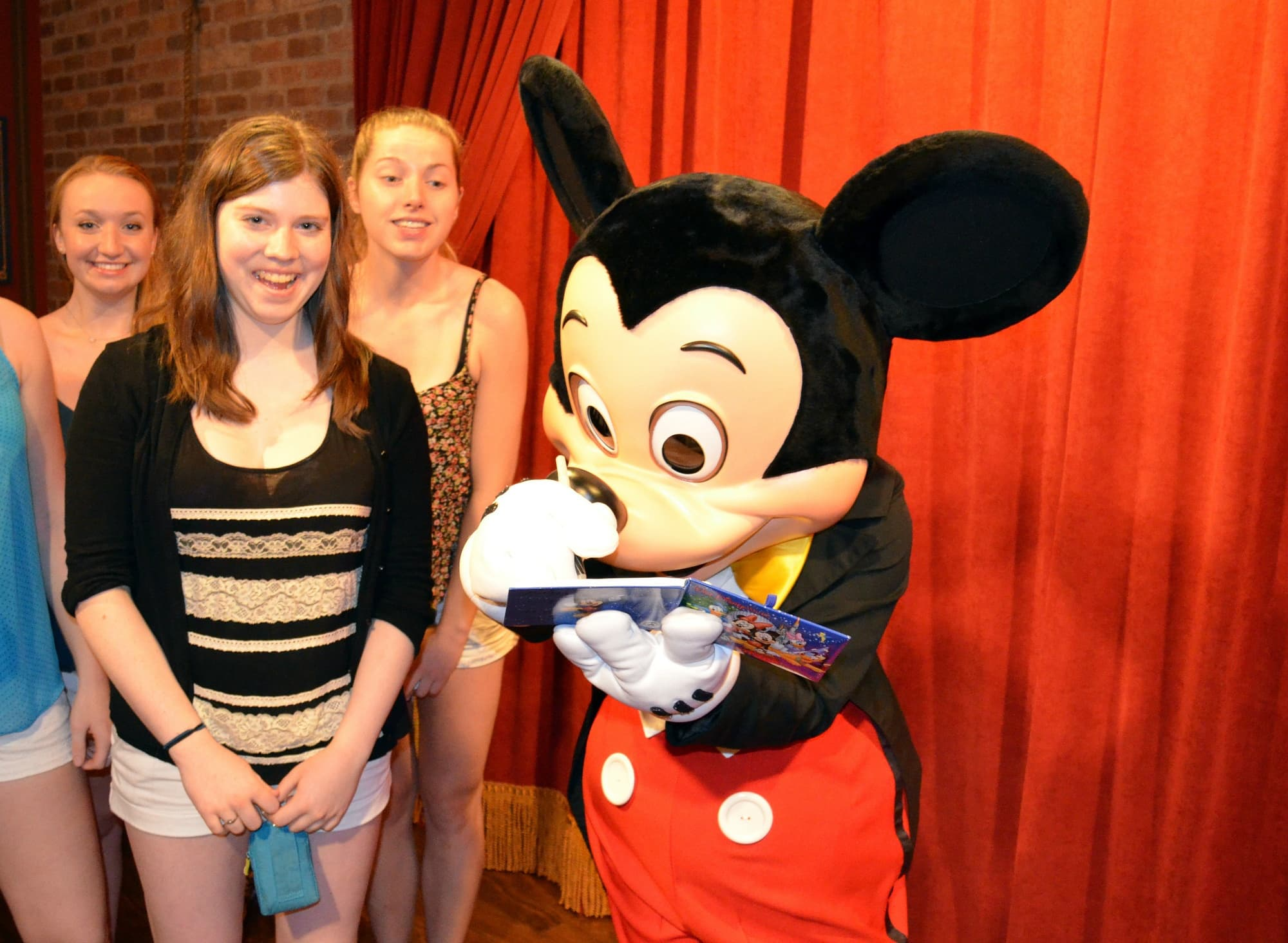 Many teens and tweens like meeting characters like Mickey Mouse ~ Disney World with Teens & Tweens