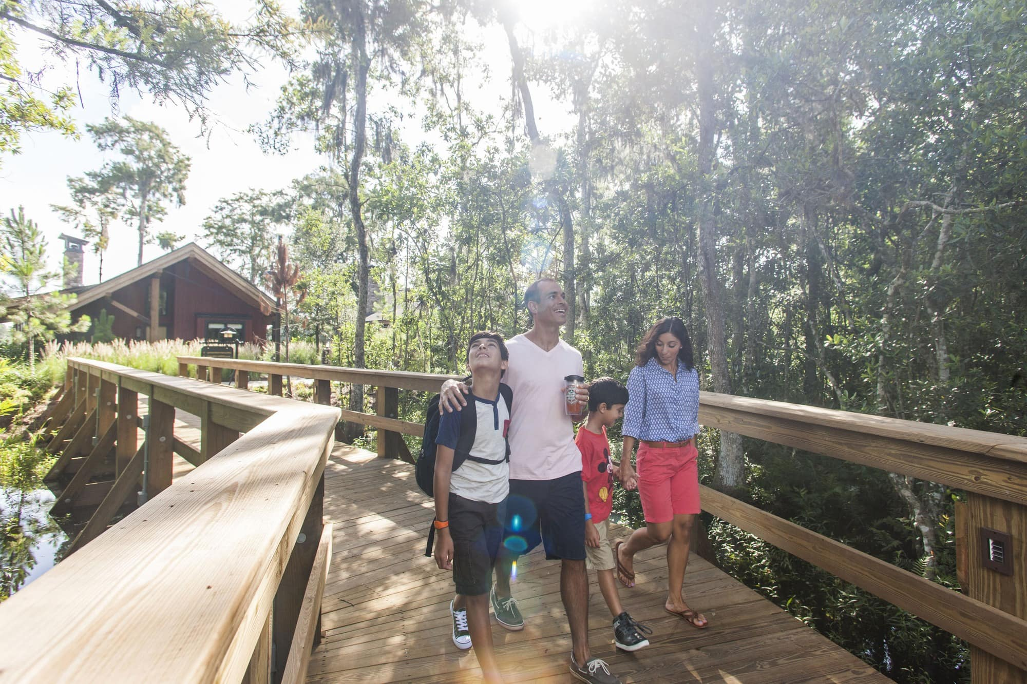 Copper Creek Villas & Cabins at Disney's Wilderness Lodge offer accommodations as large as three-bedroom Grand Villas ~ Disney World with Tweens and Teens