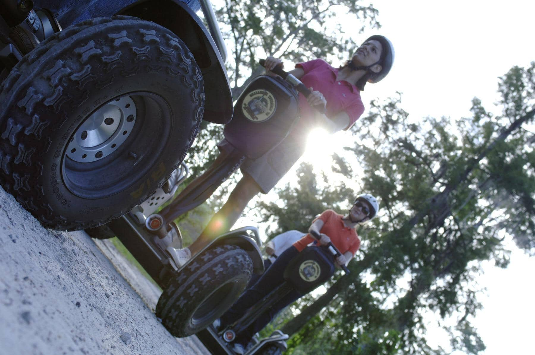 "Take your teen on a ""Wilderness Back Trail Adventure"" at Disney's Fort Wilderness Resort and Campground aboard a Segway ~ Disney World with Teens"