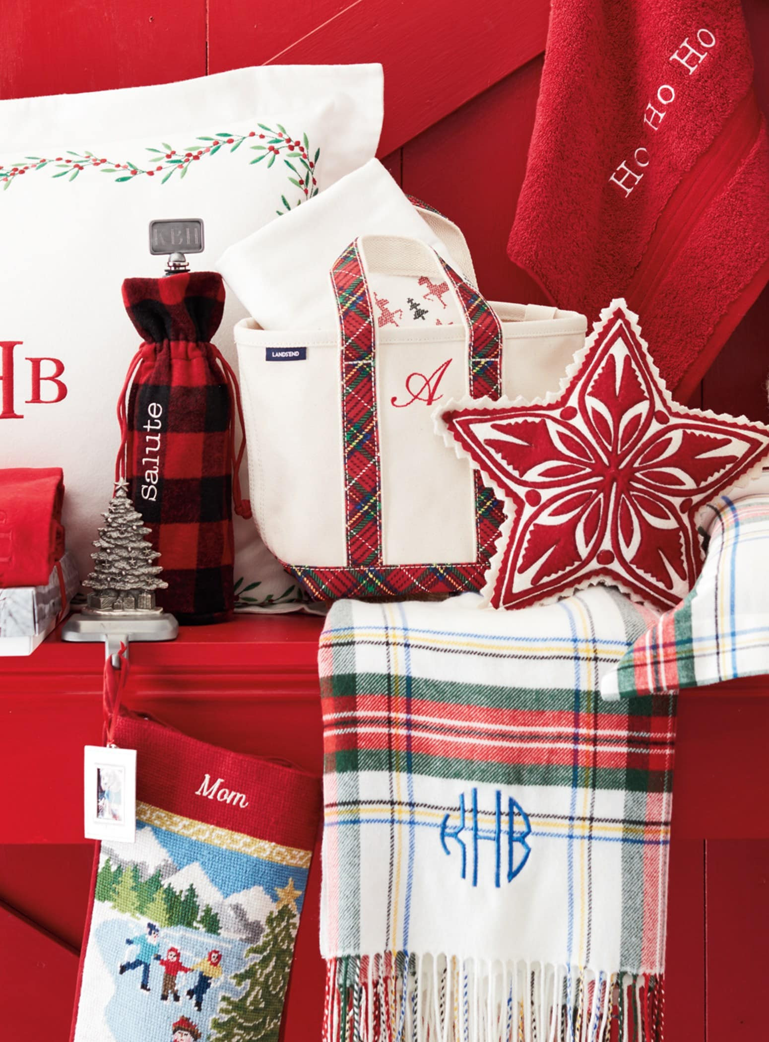 Lands' End personalized gifts ~ Santa for a Day Lands' End Discounts and Giveaways