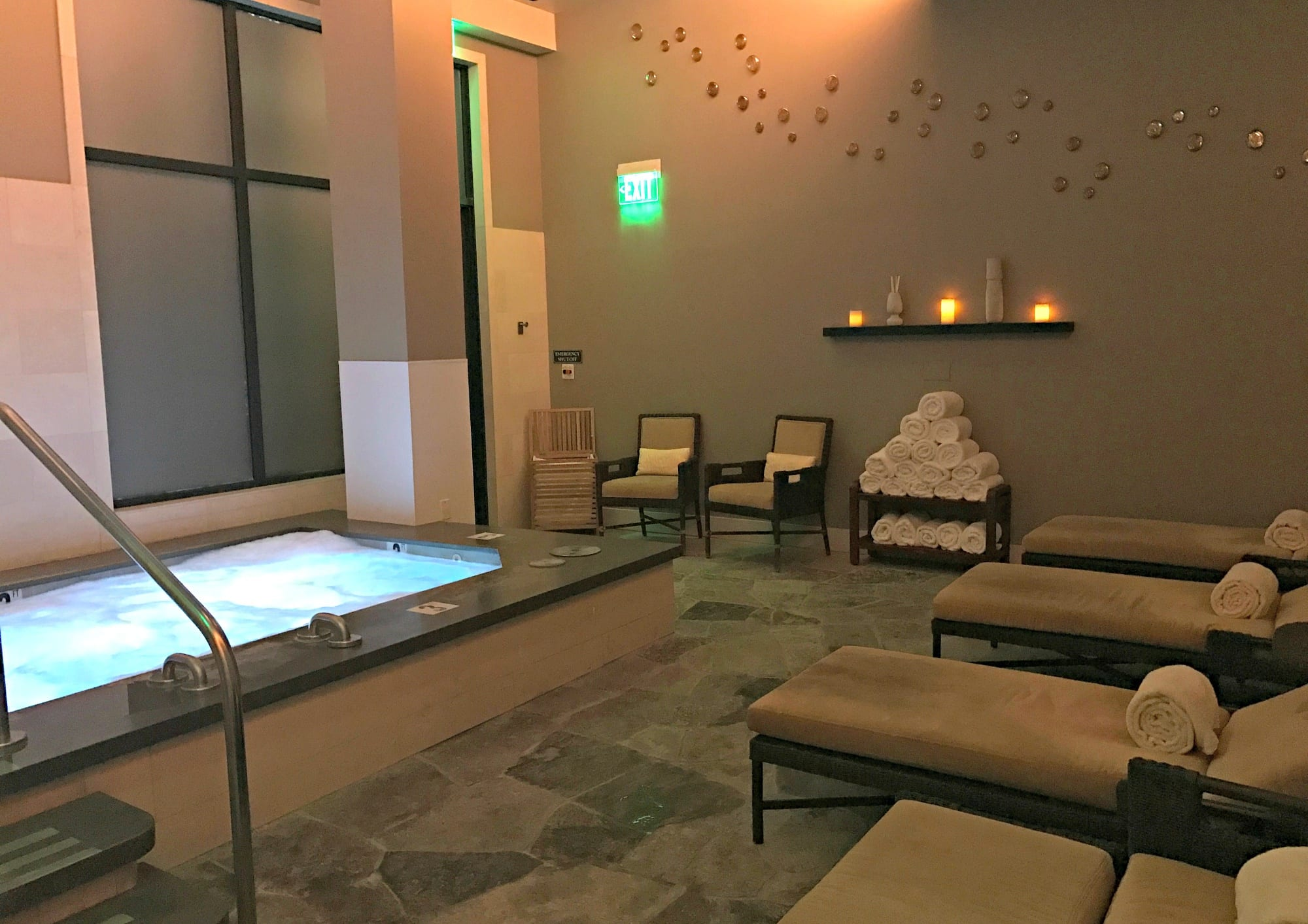 The luxe spa at The Ritz Carlton, Lake Tahoe