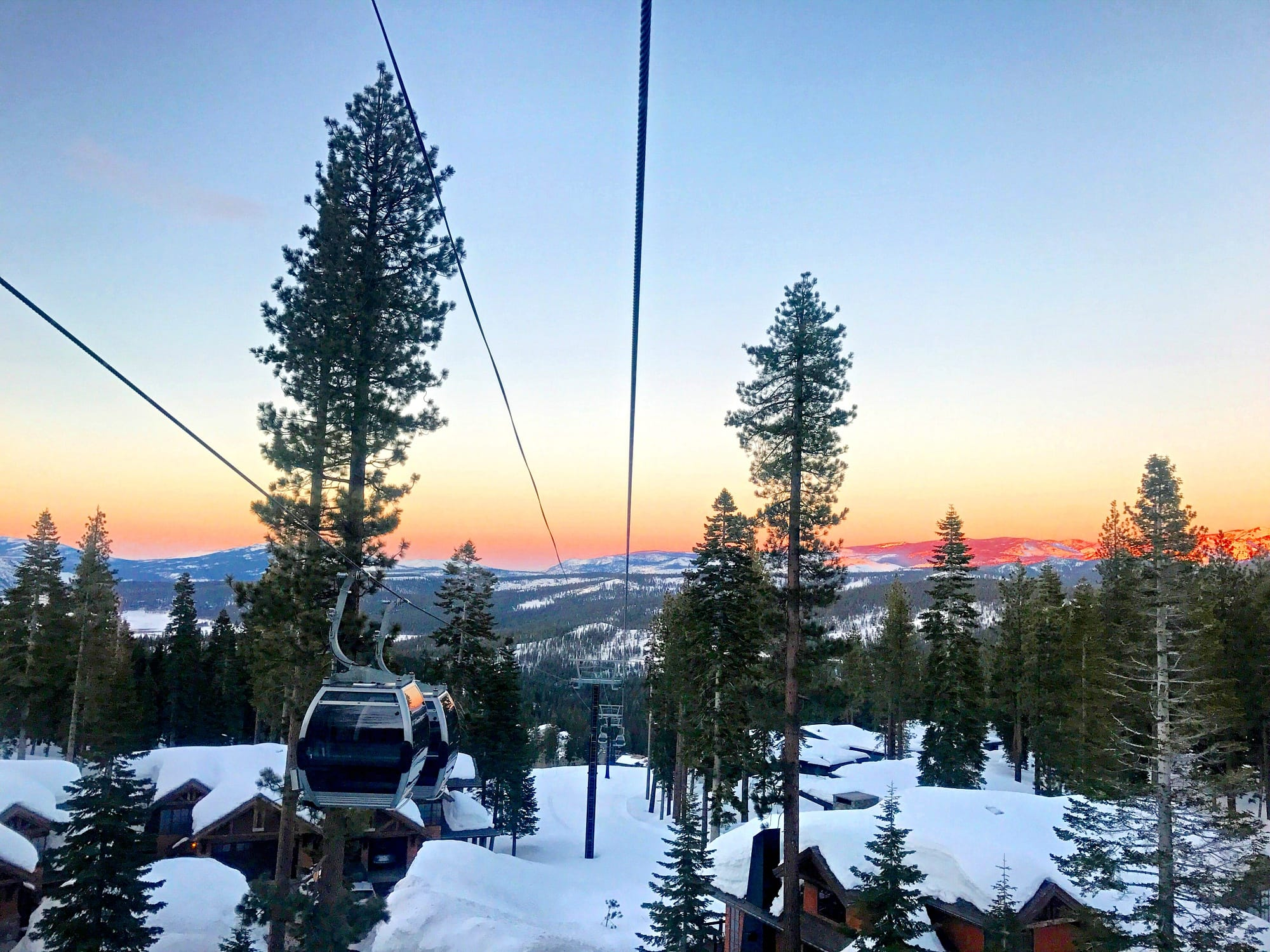 Take the gondola to mid-mountain for cross country skiing, snowshoeing and fat biking at Northstar Ski Resort with kids