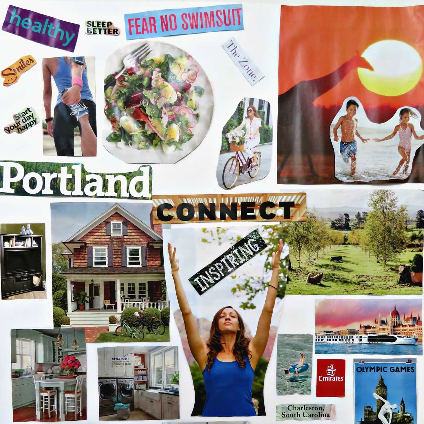 vision board party sample