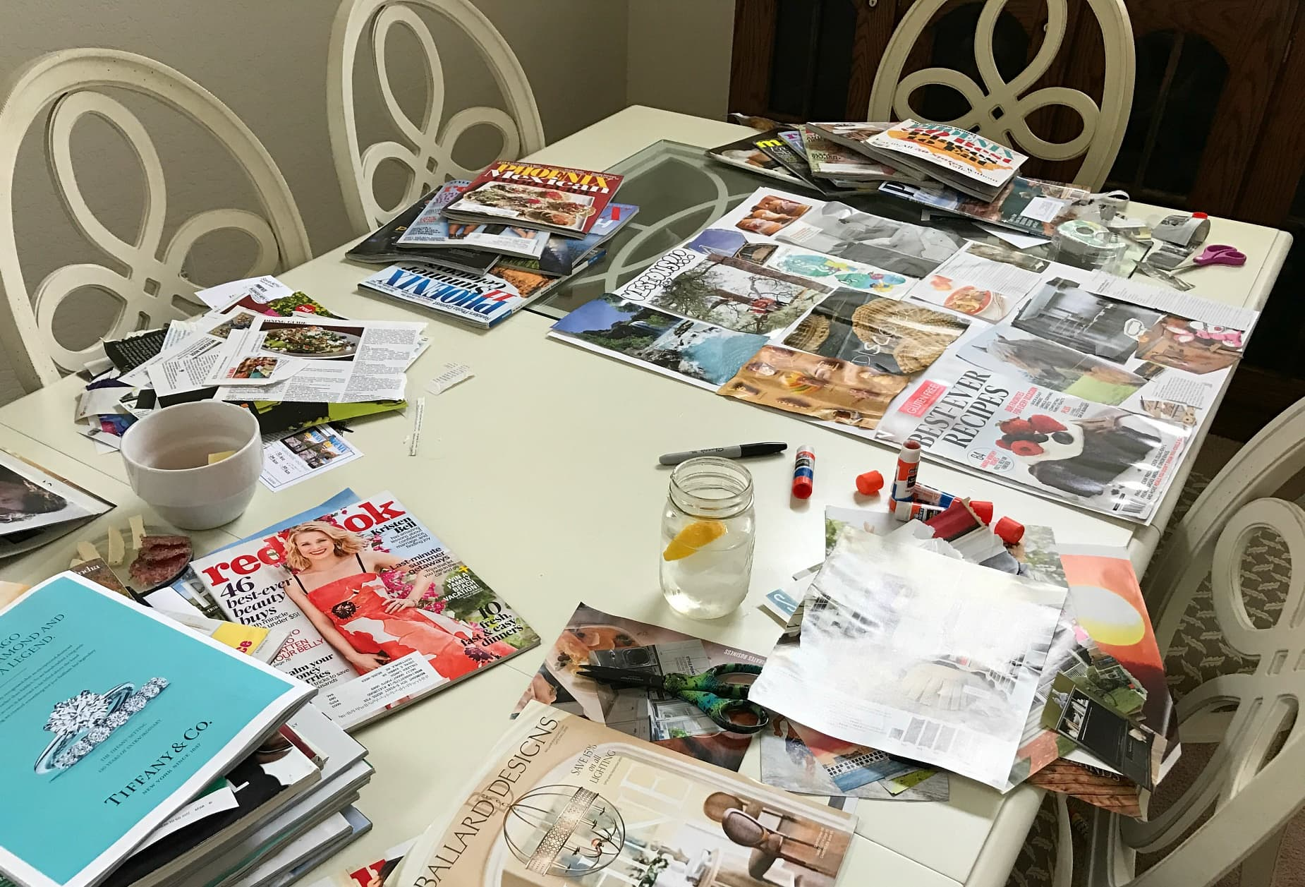 It's easy and fulfilling to host a vision board party