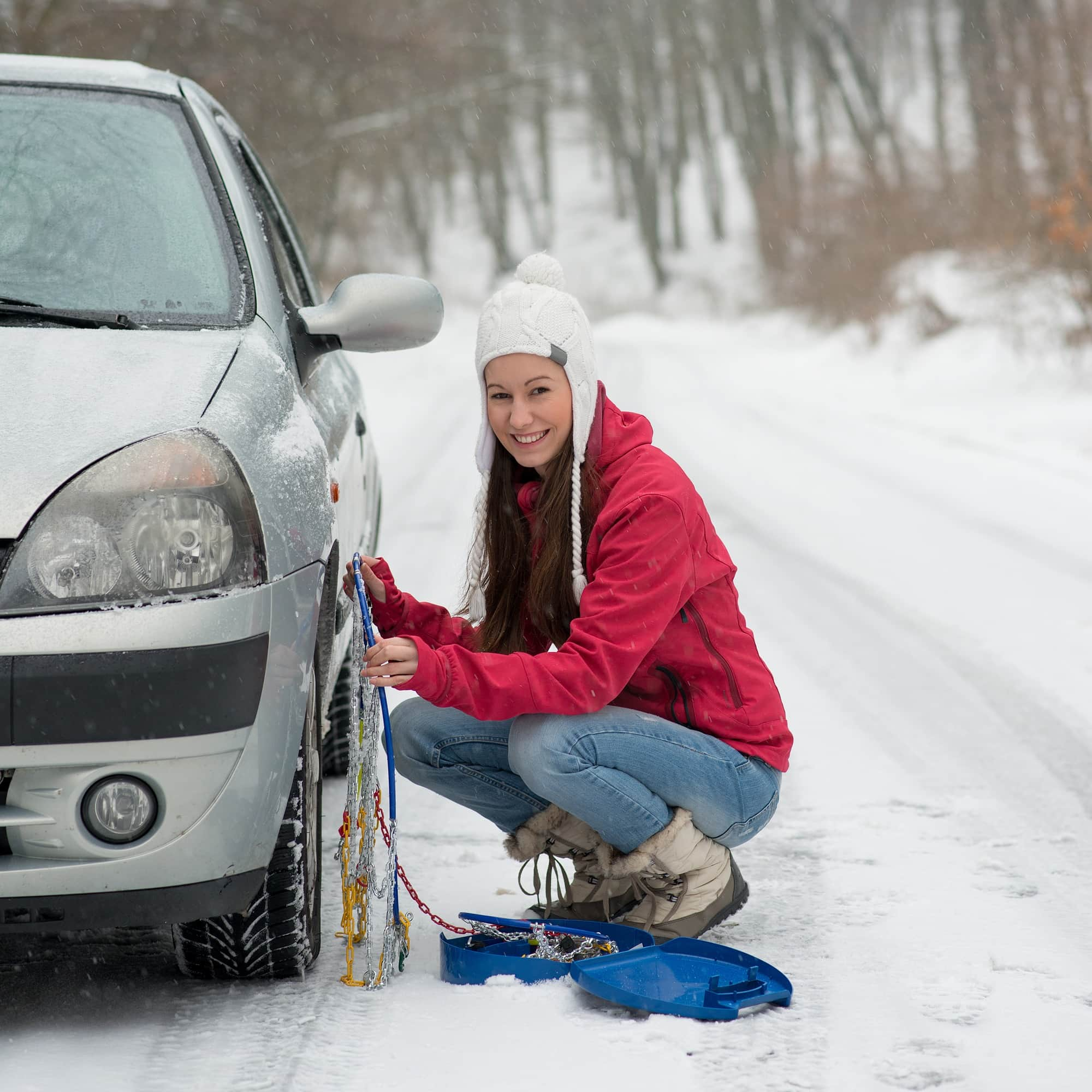 If you'll be using them, you need to know how to install and remove snow chains ~ How to prepare your vehicle for a winter car trip