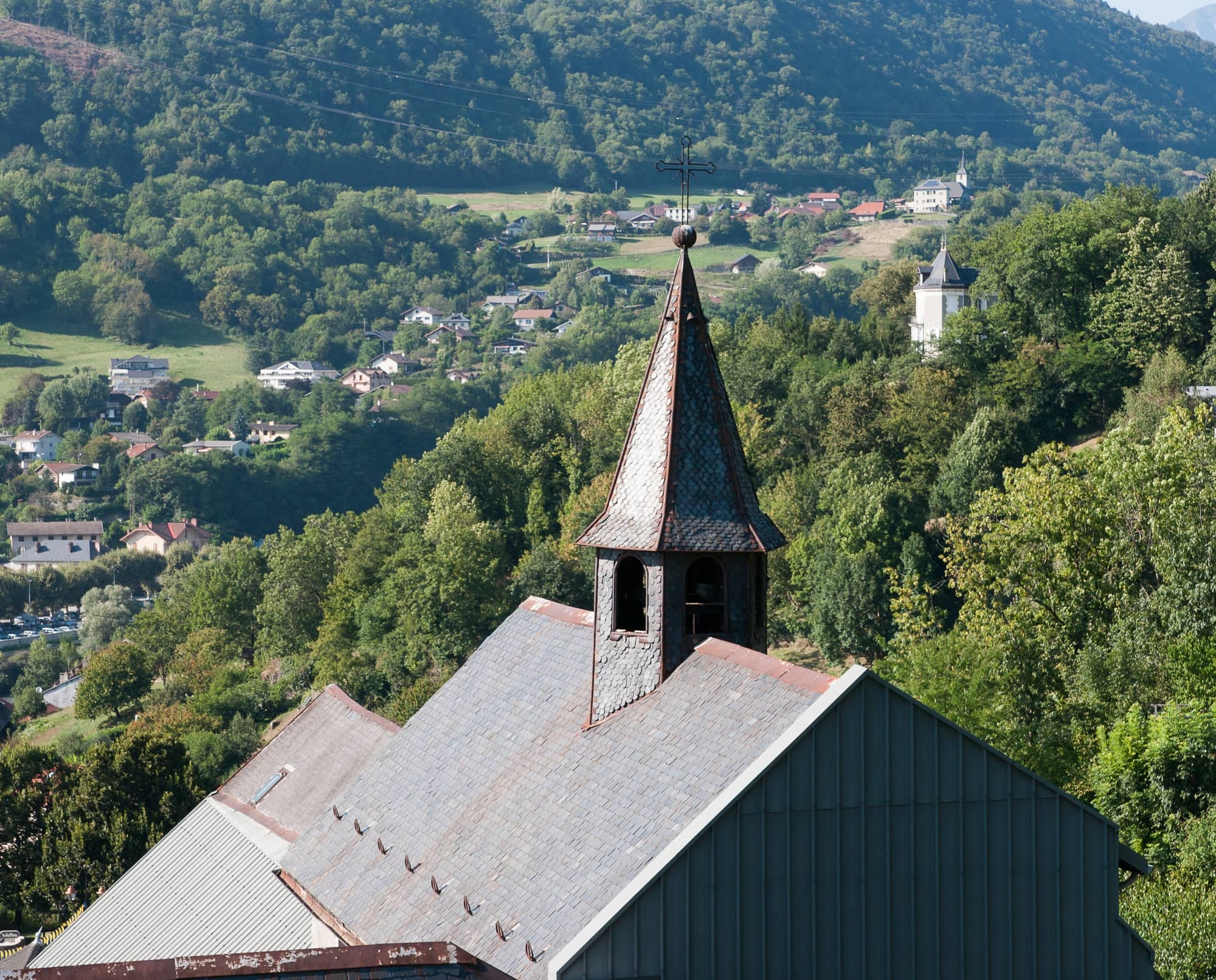 The medieval town of Albertville Savoie ~ Best destinations in France for families