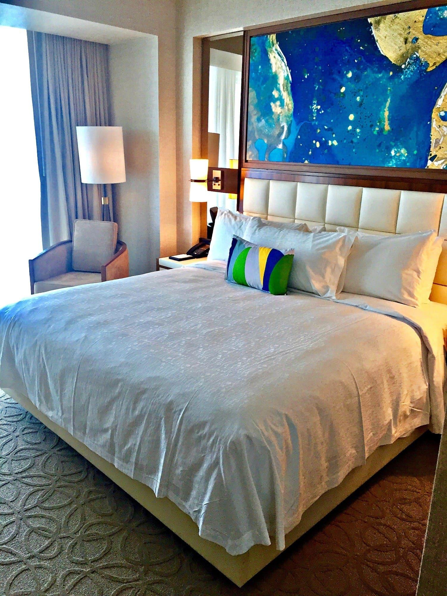 Conrad Fort Lauderdale one bedroom suite