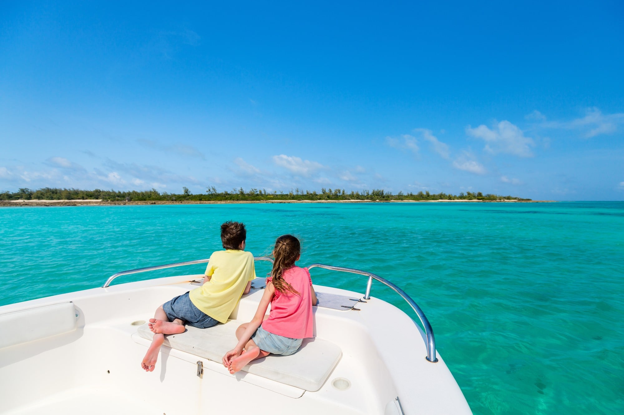 Facing the direction you're headed can help avoid motion sickness on a boat or any mode of transportation