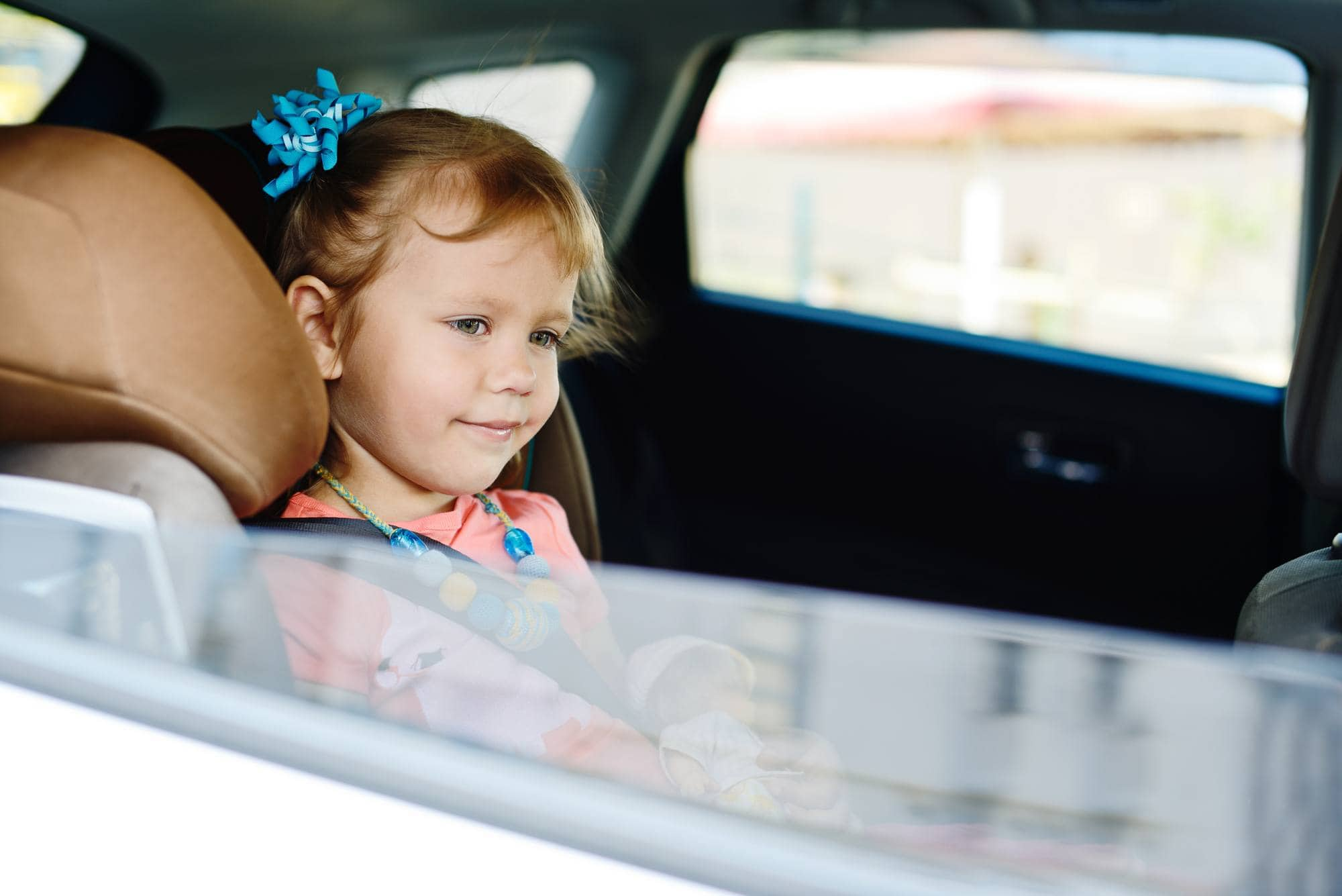 Opening a window in a car can help relieve motion sickness for some kids