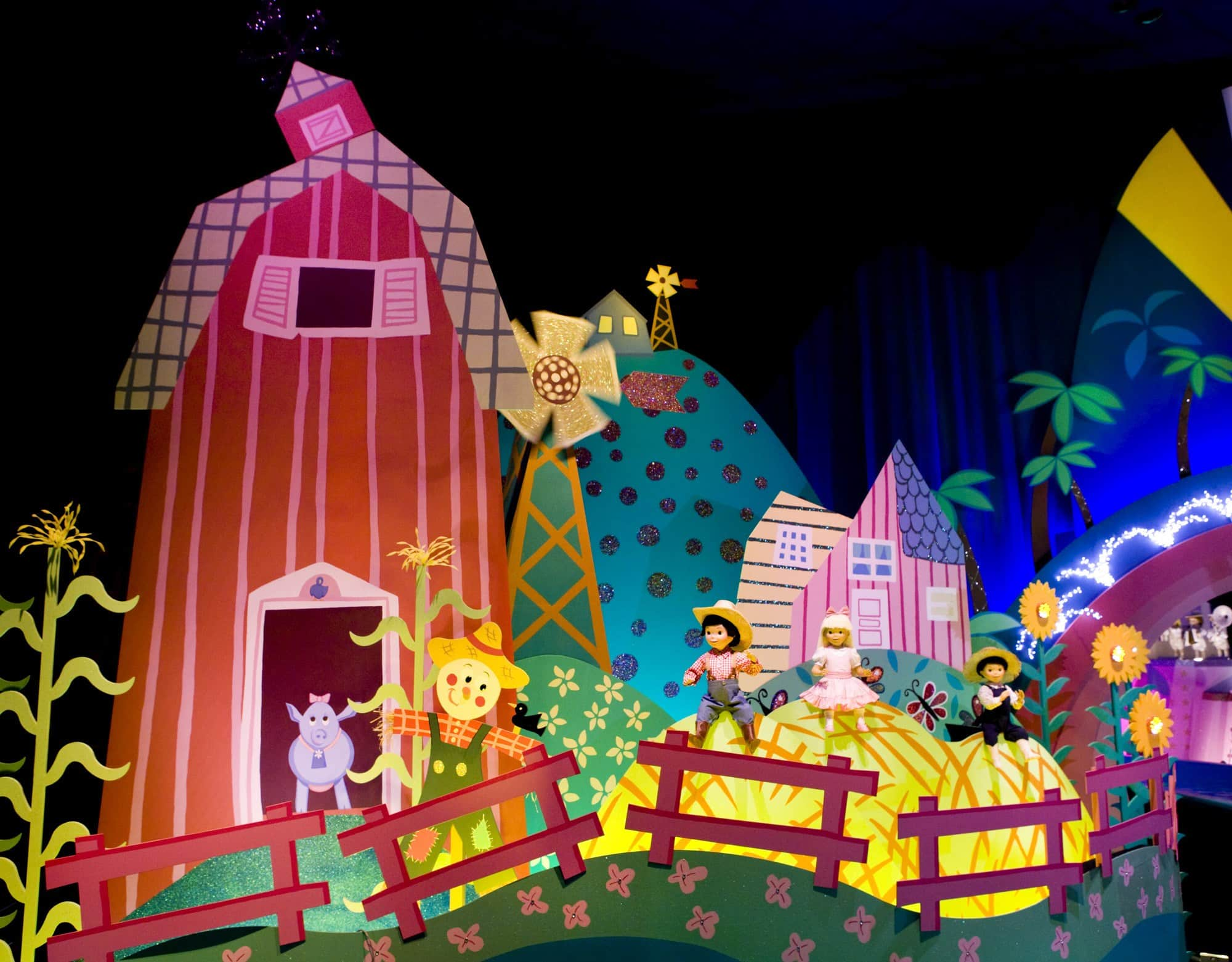 """Take a trip around the globe on """"it's a small world"""" ~ Educational Things to Do at Disneyland with Kids"""