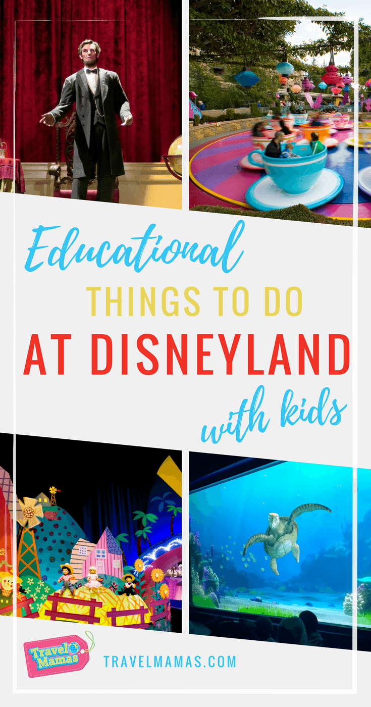 Educational Things to Do at Disneyland with Kids #disney #disneyland #homeschooling #worldschooling #physics