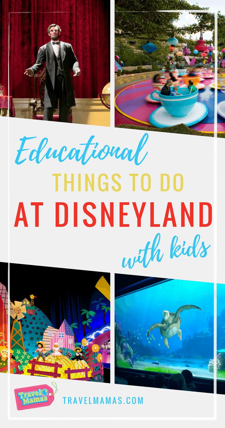 Educational Things to Do at Disneyland with Kids #disney #disneyland #homeschooling #worldschooling #physics