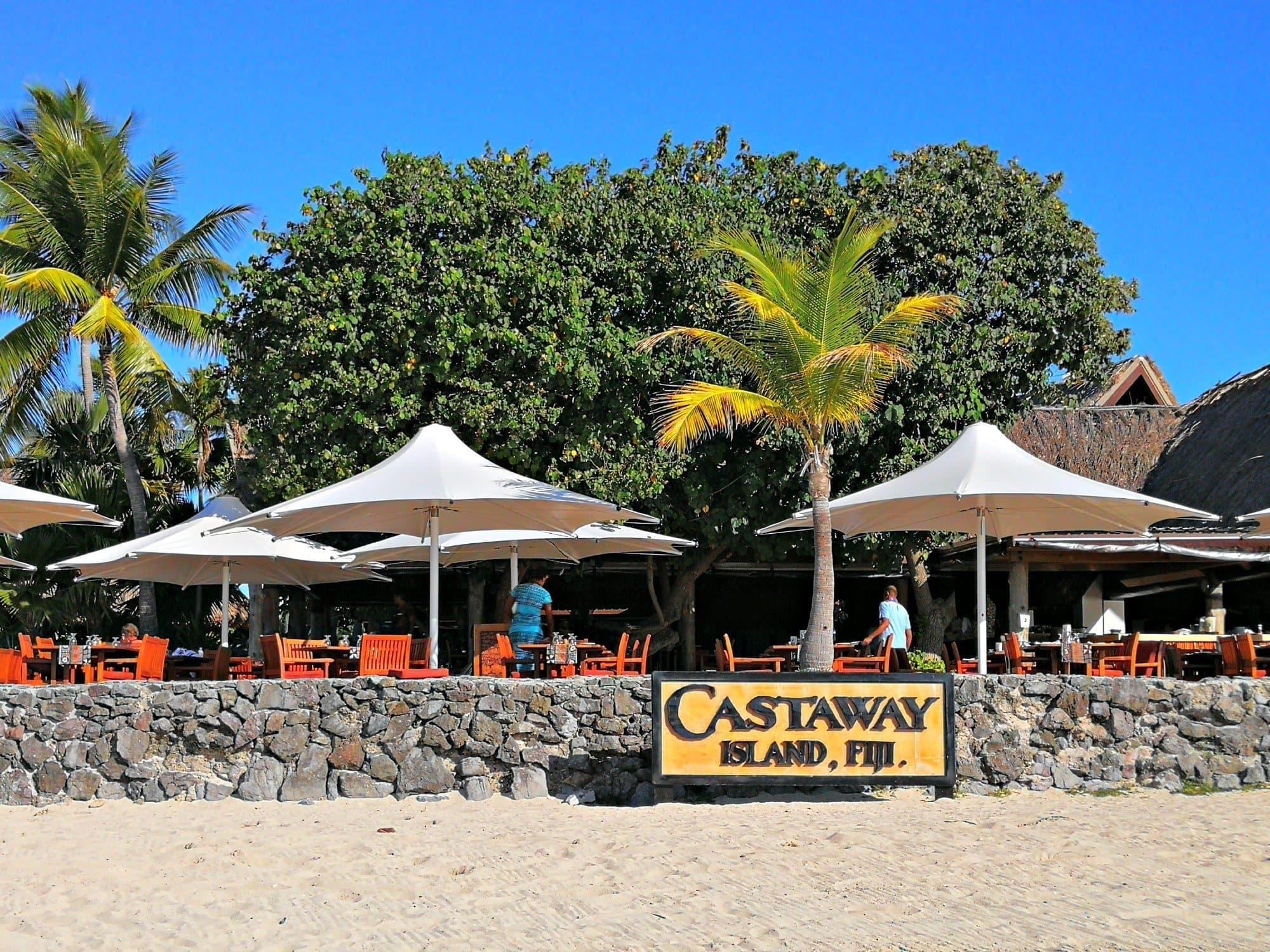 Castaway Island in Fiji with kids