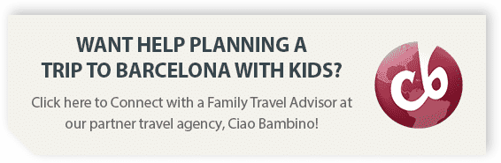 Get help planning a trip to Barcelona with kids from our partner, Ciao Bambino